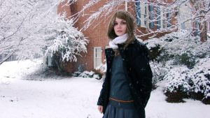 Hermione: Snow by kanancom