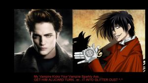 Alucard Vs Edward by Demonically-Adorable