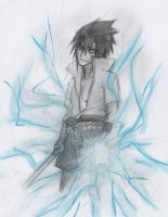 :.:sasuke scetch:.: by Stray-Ink92