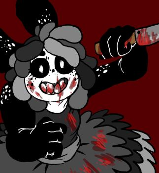I Might be Lacking in Color But This Blood Isn't by foxy-the-puppet