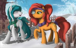 Winter Walk by Unnop64