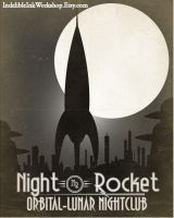 Night Rocket Lunar Nightclub by IndelibleInkWorkshop