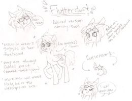 Flutterdust Ref Sheet by small-sanctuary