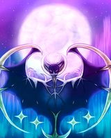 Lunala by CarillonNightmares