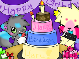 :Happy Birthday Haru: by ToxiicClaws