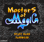 MasterS of MagiC NES Pixel-art Logo Design by UberVestigium