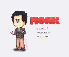 Adrian Monk by DarthxErik