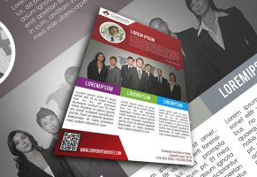 Corporate Business Flyer by afizs