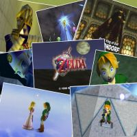 The Legend of Zelda: Ocarina of Time Photo Collage by JanetAteHer