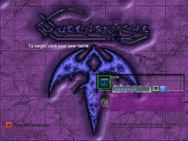 Carved 3D Queensryche Marble by rycher