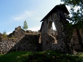 Karksi Castle ruins and moat 103 by MASYON