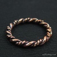 Viking copper ring by Sulislaw