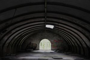 Hangar in decay by Lightmotiv