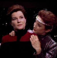 Intendant and Evil Janeway 2 by twisted-illusion-666
