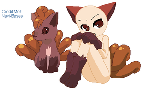 Vulpix Girl Base by Navi-Bases