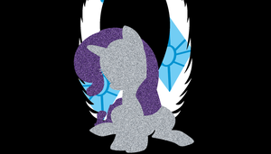 Rarity Wings Wallpaper by Bluuper