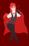 Grell Sutcliff by lordofamus