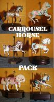 carrousel horse pack by LongStock