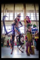 Fiddlestick and my sweet Zyra by Orkochan