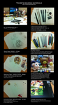 My drawing materials by tho-be