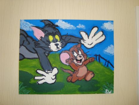 classic tom n jerry by swhitworth83