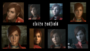 Claire Redfield ~ Game of Oblivion Collage by lsk1977