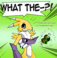 Eat up Renamon by TokenDuelist