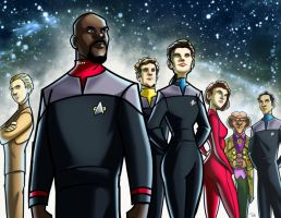 Star Trek: Deep Space Nine by rocom
