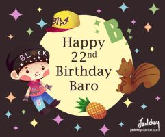 Happy 22nd Birthday Baro!! by Jadekyy