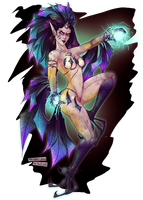 Collabz: The Harpy Witch! by FatVonD