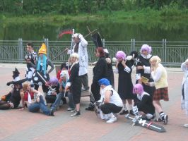 AI '10 - Soul Eater group shot by hylian-dragoness