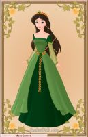 Queen Elinor From Brave by Iranaa