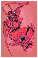 Lady Guyver by yunni