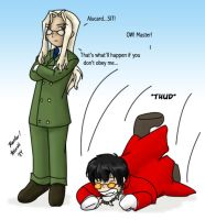 Alucard, SIT by NeuroticCrow