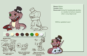 Mubes character profile by PhuiJL