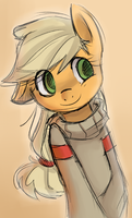 sweater sketch remake by kmrShy