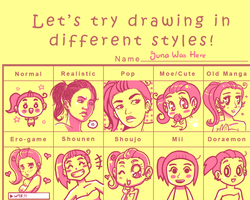 style meme by junawashere