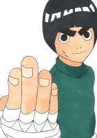 Rock Lee by Ocraxhaydon