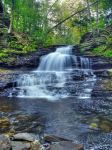 Ricketts Glen State Park 11 by Dracoart-Stock