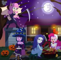 MLP - Hallowinday, by sumin6301