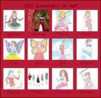 Art Summary 2011 by DoctorEvil06