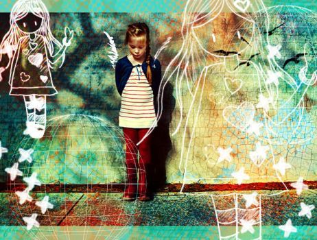 her own little world by tends2deviate