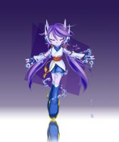 Freedom Planet2 'Sash Lilac' FAN ART by AnRock3