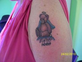 Teddy Bear Mother Tribute by TattooSavage