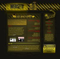 Caution Tape Craze by blacklabelwood