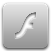 Flash Player Token Light Icon by TemaKEKS