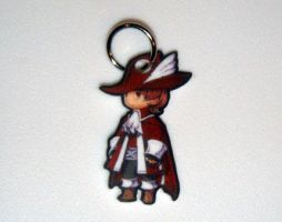 Final Fantasy Red Mage Charm by starprints