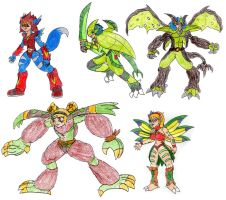 Digitized Digidestined Extras by MegaloRex