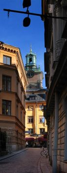 Old Town in Stockholm by carlzon
