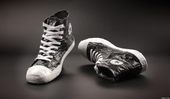 Converse All Star Duct Tape by A-f-x